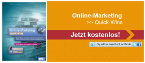 kostenloses eBook Online-Marketing Quick Wins