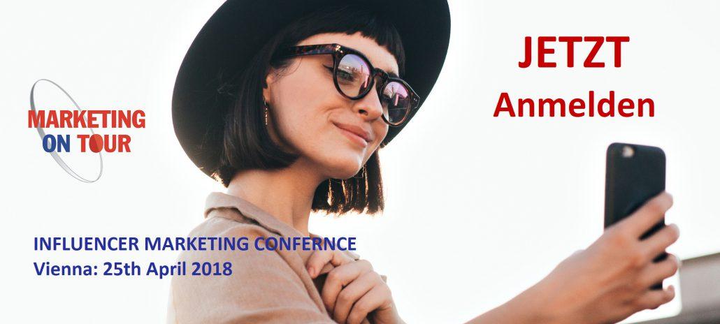 Influencer Marketing Konferenz, Wien, April 2018