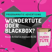 Programmatic-Advertising Wundertuete oder Blackbox?