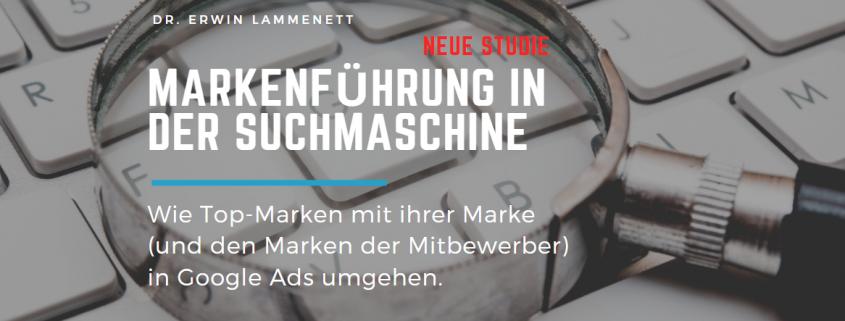 Studie: Markenführung in der Suchmaschine