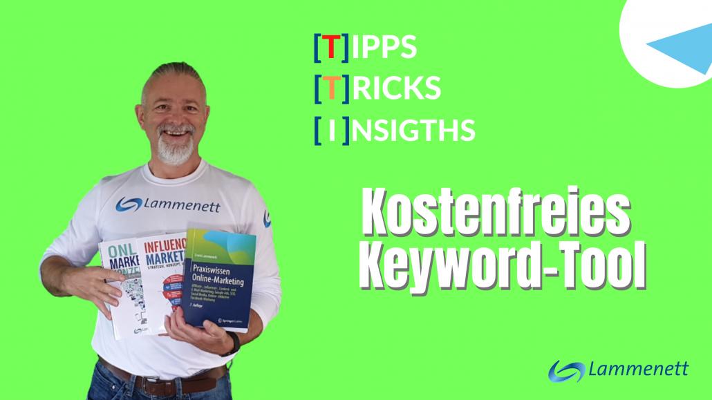 Kostenfreies Keyword-Tool für SEO und Content-Marketing
