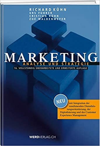Marketing: Analyse und Strategie Taschenbuch