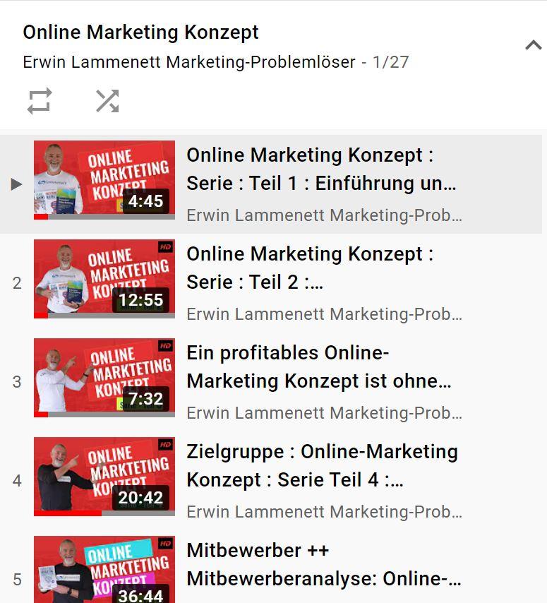 Online-Marketing Konzept: So geling es